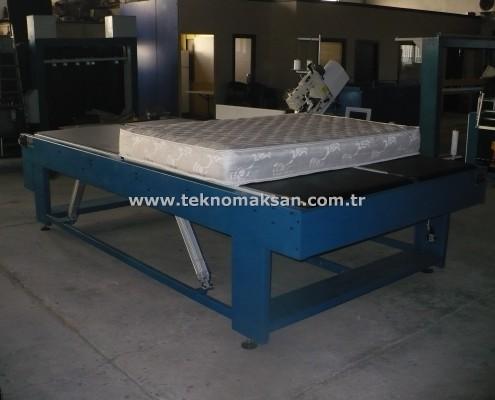 Bantlı Yatak Kenar Kapama Makinası