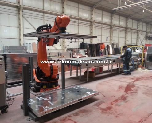 Çelik Kapı Üretim Hattı